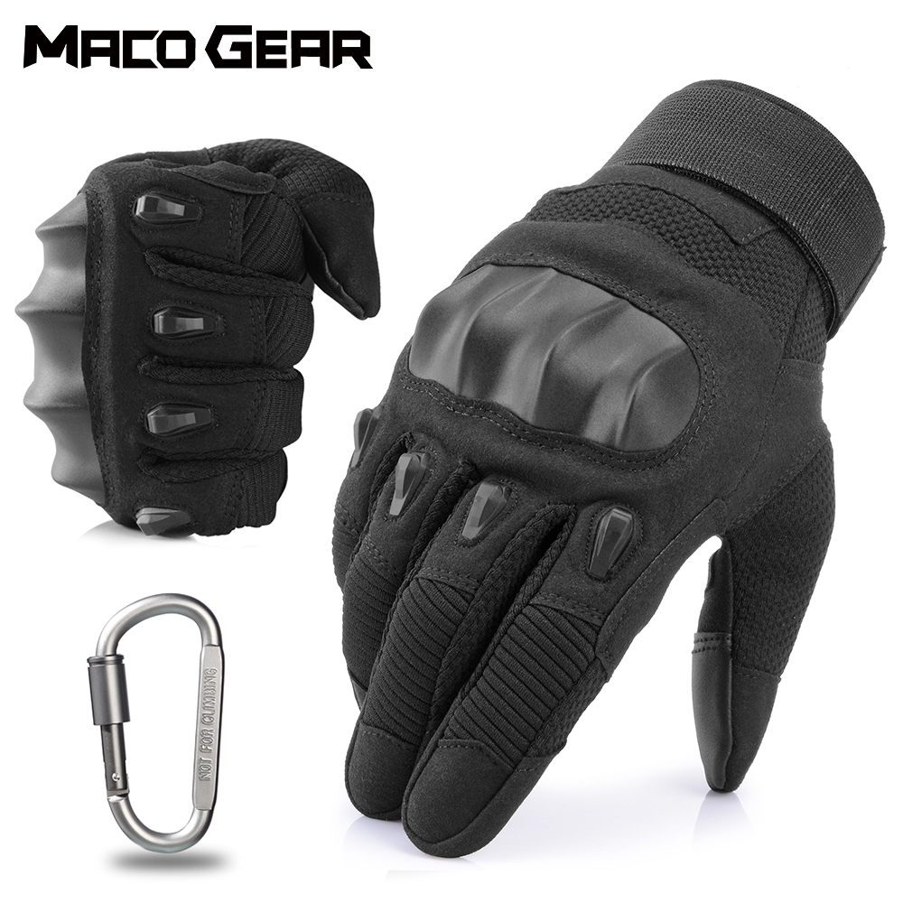 Touch Screen Hard Knuckle Tactical Gloves Army Military Combat Airsoft Outdoor Sport Cycling Paintball Hunting Training Riding