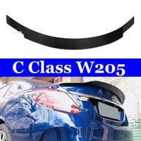 CF Spoilers For Mercedes W205 Coupe 2 door Sedan 4 door C180 C200 C250 C300 C400 2015+ Car Rear Trunk Carbon Spoiler Wing