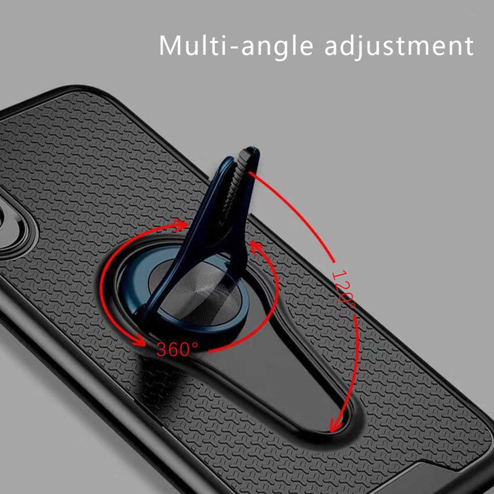 Soporte de anillo magnético de montaje de ventilación KISSCASE para Huawei P30 Lite P30 Pro P30 Mate 20 Pro 20 Lite 20 10 Lite Honor 10 8X