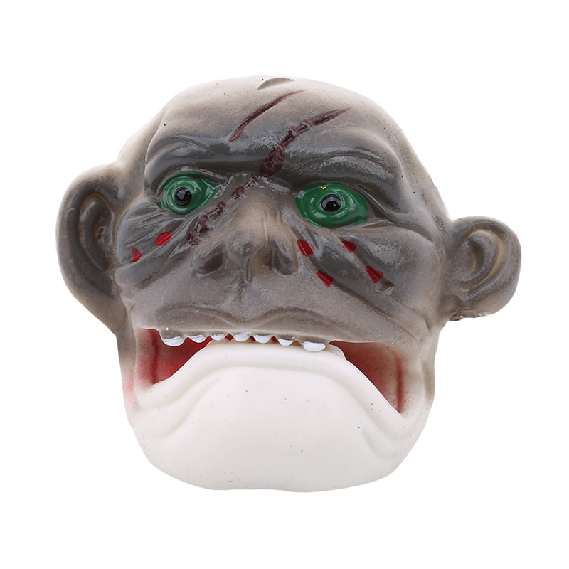 HALLOWEEN STRETCH FACE HEAD SCARY MASK HORROR ZOMBIE DEVIL FANCY PARTY COSTUME
