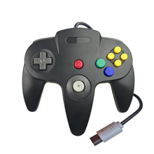 SeenDa Wired Gamepad Joypad for N64 Gaming Joystick Game Pad for Nintendo Gamecube Wired Controller Joystick Gamepad with tracking number wired game controller gamepad for n gc joystick with one button for gamecube for wii