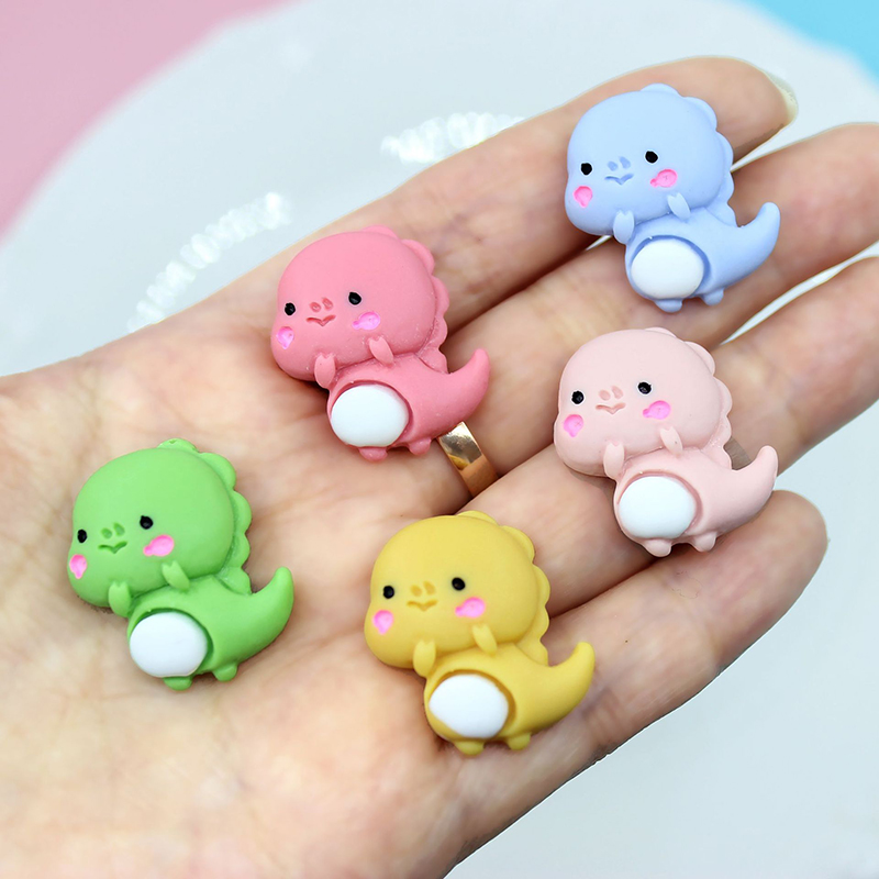 Boxi Slime Additives Resin Kawaii Animal Charms Cute New DIY Kit Supplies Accessories Filler For Fluffy Cloud Clear Slime Clay