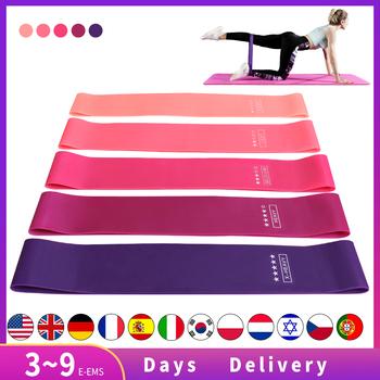 Taśmy oporowe do jogi crossfitu 5 poziomów rozciągania gumy do ćwiczenia fitness pilates siłownia akcesoria treningowe tanie i dobre opinie ZSOOQ Unisex CN (pochodzenie) Kompleksowe ćwiczenia Fitness Resistance Loop Bands Fitness resistance bands expander Natural latex