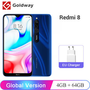 Xiaomi Redmi 8-4gb-Ram 64GB-ROM WCDMA/LTE/GSM Octa Core Fingerprint Recognition New Mobile-Phone