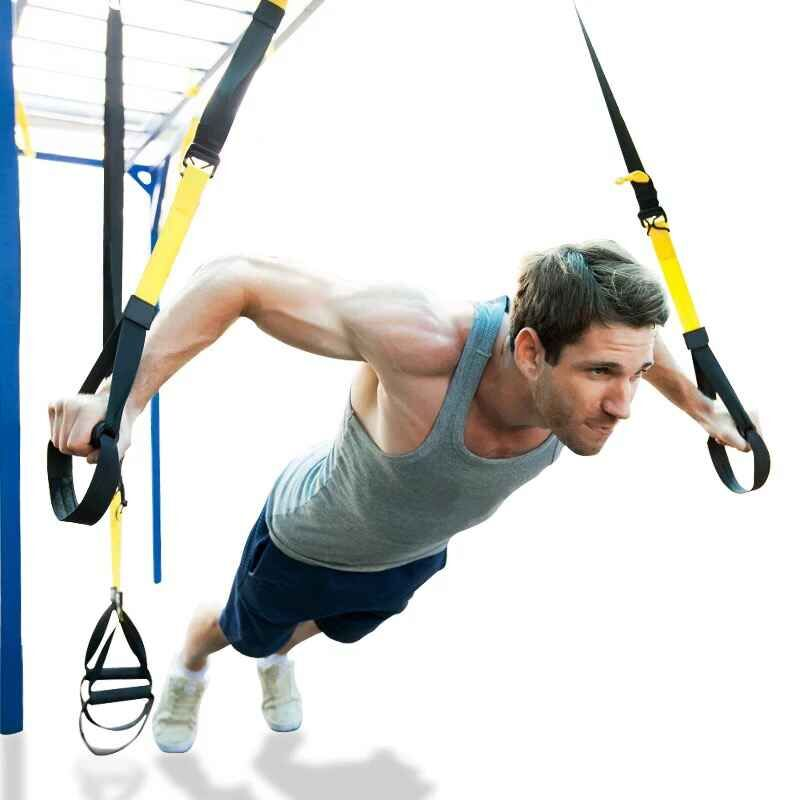 Resistance Bands Fitness Hanging Belt Training Gym Workout Suspension Exercise Pull Rope Stretching Elastic Bands For Fitness