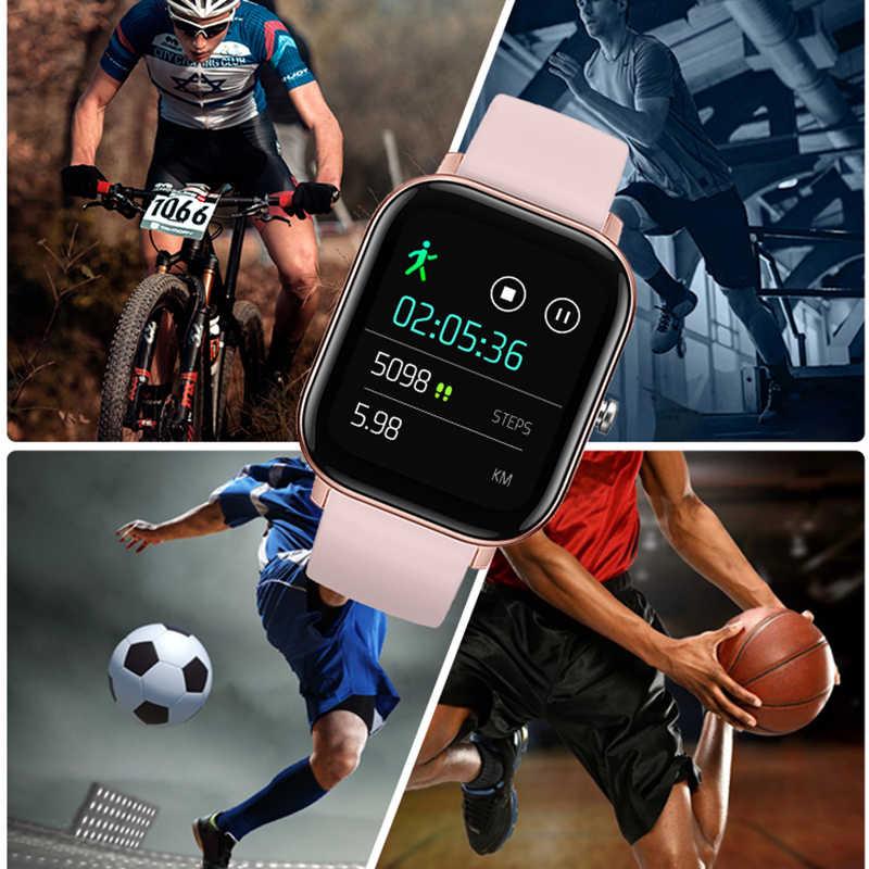 LIGE 2020 nouvelle montre intelligente femmes fréquence cardiaque moniteur de pression artérielle sport Bracelet plein écran tactile multifonctionnel smartwatch