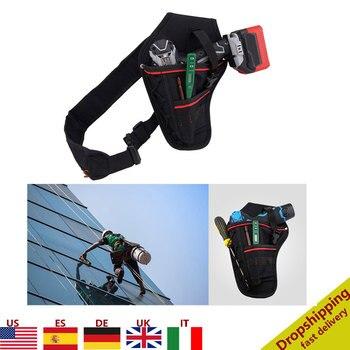 Waist Tool Bag Drill Holster Screwdriver Case Waterproof Electric Waist Belt Tool Pouch Bag Wrench Hammer Screwdriver Tool Pouch