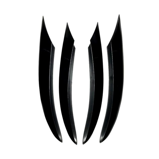 Car Front Fog Lamp Air Knife Bumper Spoiler Decoration For Mercedes Benz W205 C Class 180 260 300 2019-2021 Exterior Accessories 2