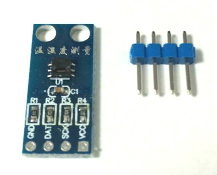 Temperature And Humidity Sensor Module Sensirion SHT20 I2C Communication