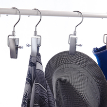 Buy Clothes Hat Hanging Hooks Super Strong Metal Laundry Clips Home Travel Swivel Hanging Laundry Hooks Portable Bra Socks Hanger directly from merchant!