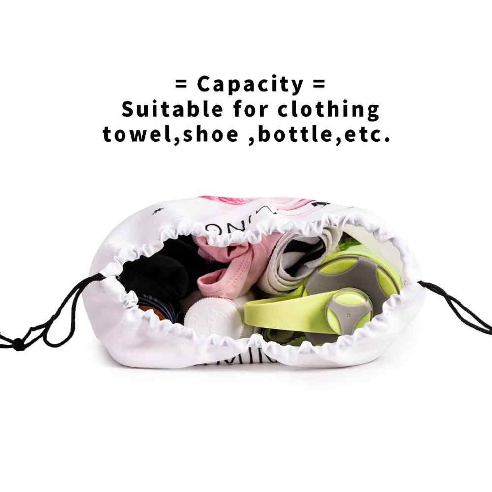 2020 estate Sacchetto di Drawstring Multi-funzionale Organizzatore Tessuto Disegnare Borse Coulisse Durevole Scarpa/Toilette Tasca di Immagazzinaggio Di Lavanderia