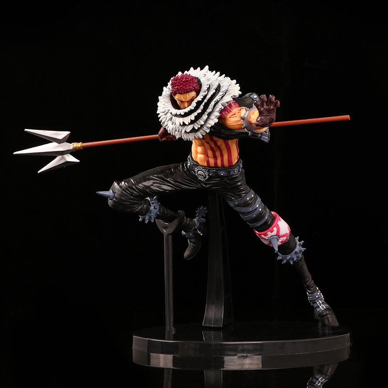 New Anime <font><b>Figure</b></font> <font><b>One</b></font> <font><b>Piece</b></font> KOA King of Artist Charlotte <font><b>Katakuri</b></font> PVC Action <font><b>Figure</b></font> Collectible Model Toy Gift Toys for Children image