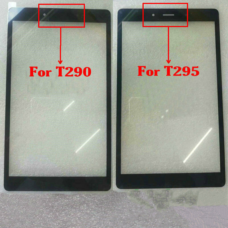 Front Glass Lens Outer Screen Panel For Samsung Galaxy Tab A 8.0 2019 T290 T295