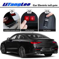 LiTangLee Car Electric Tail Gate Lift Tailgate Assist System For Mercedes Benz CLS C257 2018~2020 Control Lid