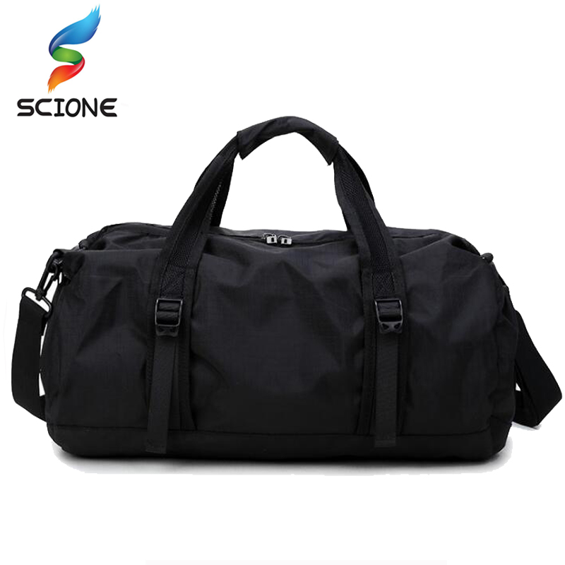 Hot A++ Gym Sports Bag Foldable Lightweight Sports Bag Travel Gear Waterproof Large Space Hand Duffel Gym Bag Men For Fitness
