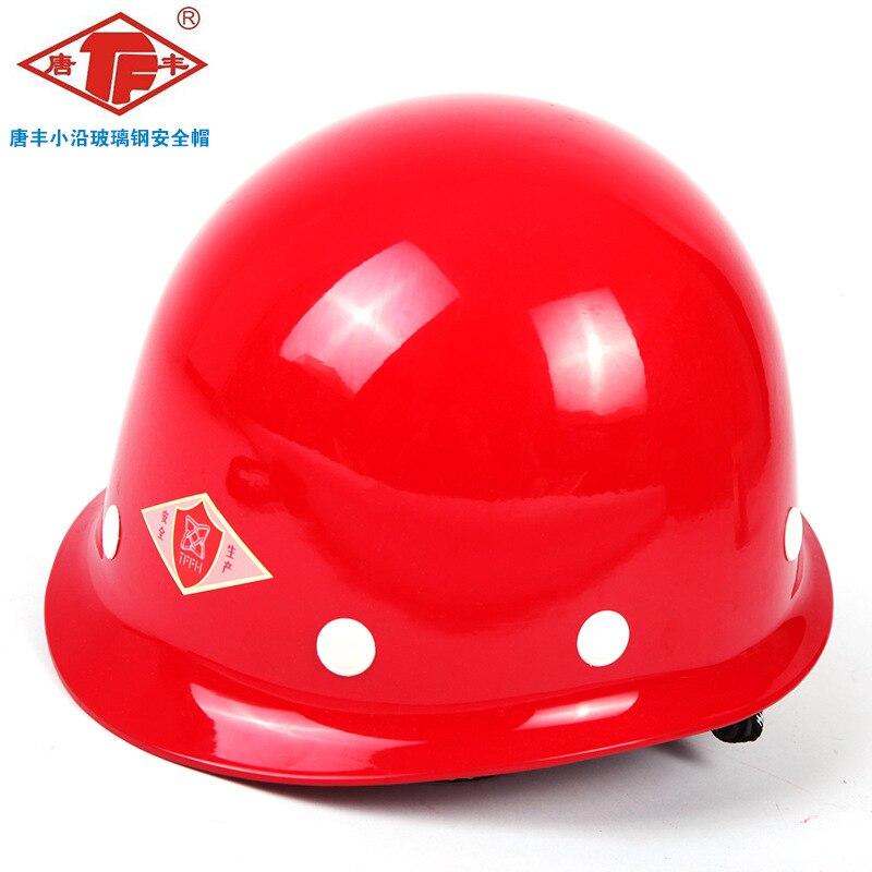 TF Fiberglass Helmet Work Site Construction Architecture Electric Power Engineering Leadership Smashing Safety Helmet Wholesale