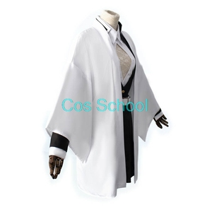 Image 2 - Disfraz de Kanroji Mitsuri para escuela Cos, disfraz de Cosplay de Kimetsu no Yaiba Mitsuri Kanroji, pelucas Kisatsutai, trajes de uniformes