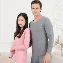 2020roupa interior interior masculino inverno feminino long johns conjuntos de roupa interior em clima frio tamanho l a