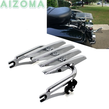 Motorcycle Two-up Detachable Rear Luggage Rack For Harley Touring Electra Street Glide FLH FLT  CVO Ultra Custom Standard  09-16