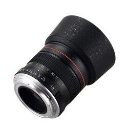 Lightdow 85 мм F1.8-F22 ручная фокусировка портретный объектив Камера объектив для цифровой зеркальной камеры NIkon Canon EOS 550D 600D 700D 5D 6D 7D 60D DSLR Камера s