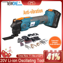 Oscillating-Tool Scarper Multi-Function Cutting-Saw Renovator Wood NEWONE for