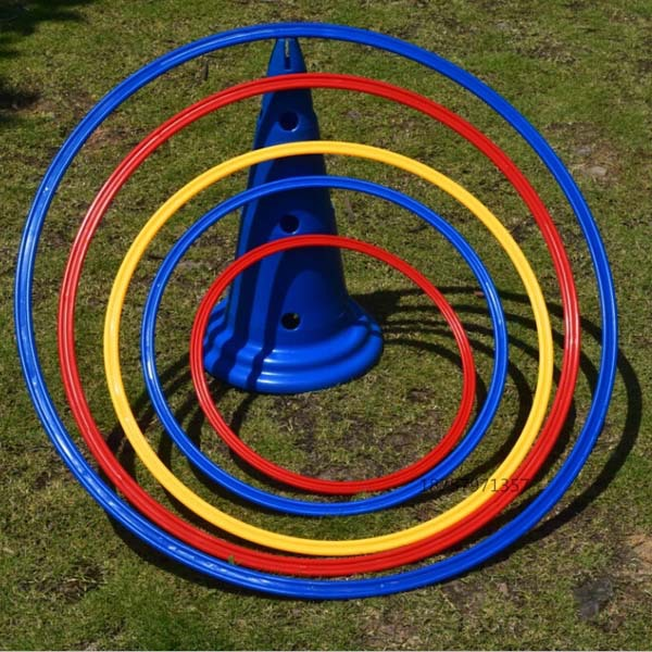 Manufacturers Supply 40cm Football Training Ring Training Circle Physical Fitness Speed Training Ring Sensitive Circle Agility T