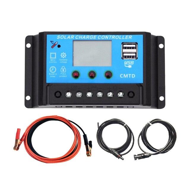 XINPUGUANG 200w solar kit system plate 2 pcs 100 watt 18v Glass solar panel modul mit pv stecker für dach auto caravan home 5
