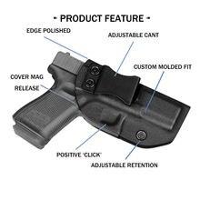 Кобура iwb kydex Подходит для: glock 19 19x 23 32 45 (gen 1