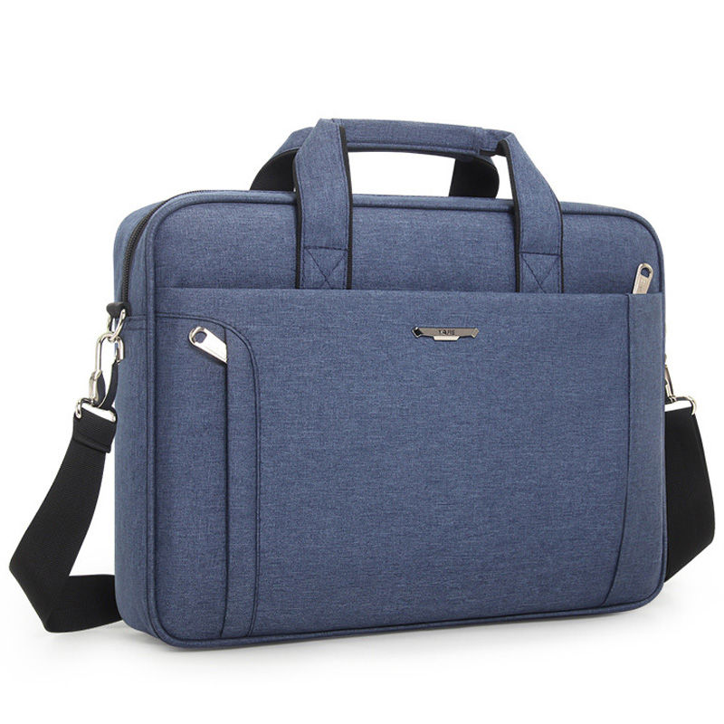 Famous Brand Fashion 14 Inch Laptop Bag Men Handbag Business Shoulder Bag Waterproof Briefcase