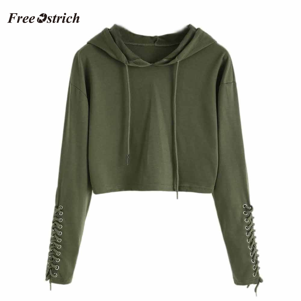 Free Ostrich 2020 New Harajuku Hoodies For Girls Solid Color Hooded Tops Women's Sweatshirt Long-sleeved For Autumn Winter 91018