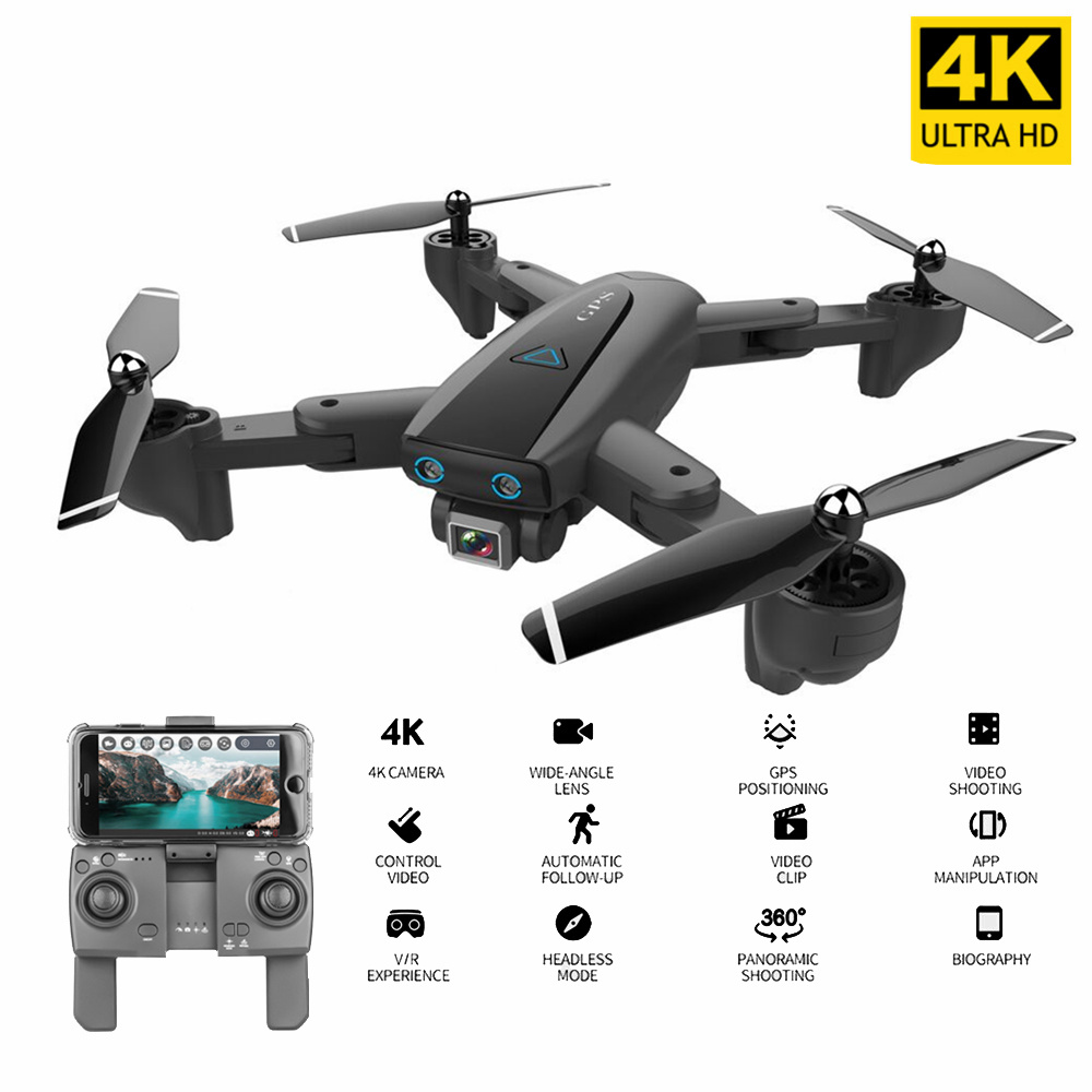 CSJ S167GPS Drone With Camera 4K Camera 5G WIFI FPV Drone Way-point Flying Gesture Photos Video Auto Return Home RC Quadcopter