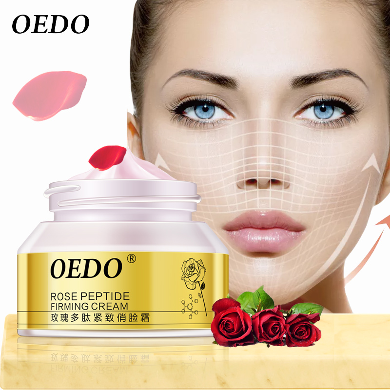 Rose Peptide Firming Face Slimming Cream Anti Cellulite Cream Weight Loss Products Skin Care Anti-aging Anti Wrinkle Moisture