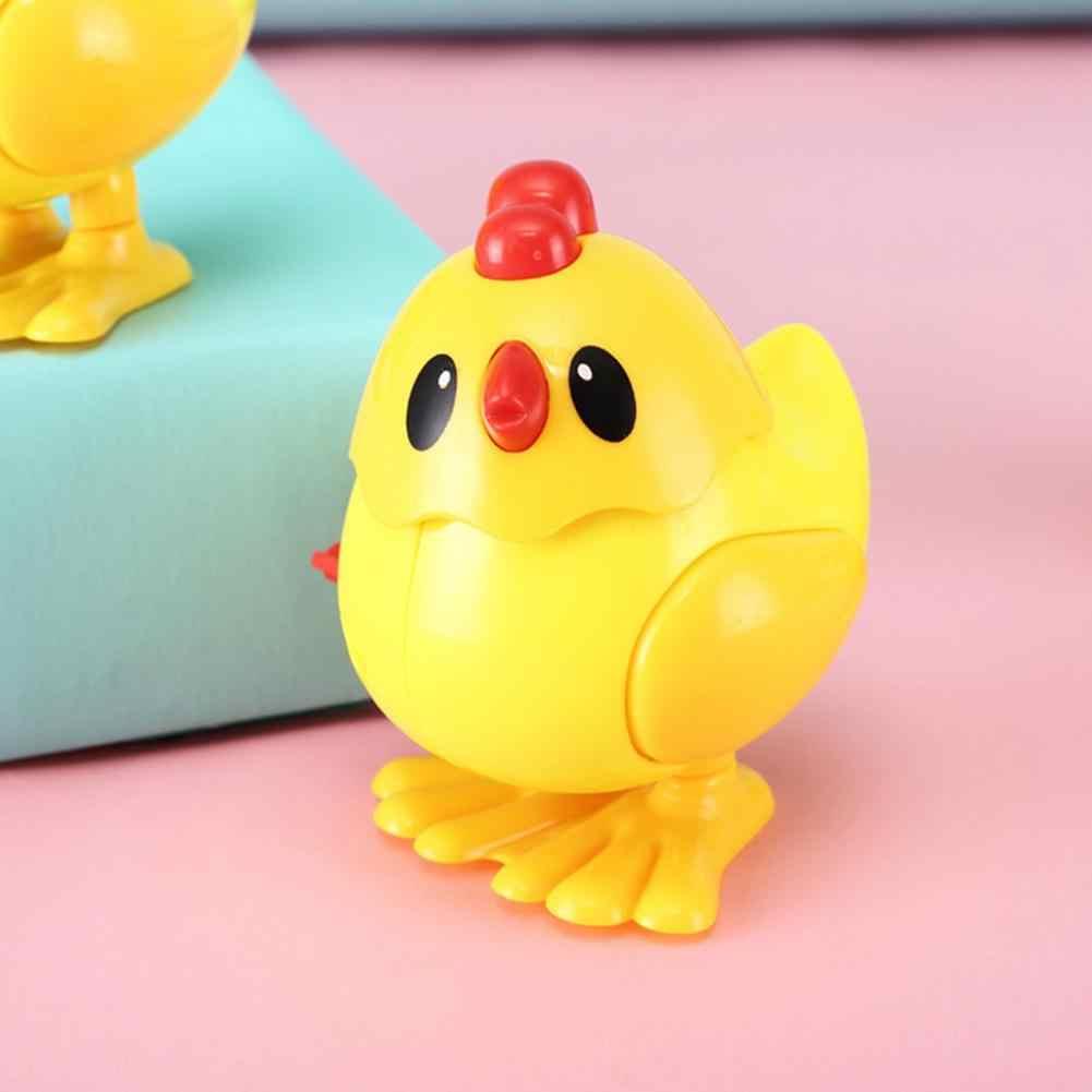 Klasik Kecil Yang Lucu Cewek Memantul Hewan Jam Wind-Up Anak Mainan Pendidikan untuk Anak-anak Hadiah