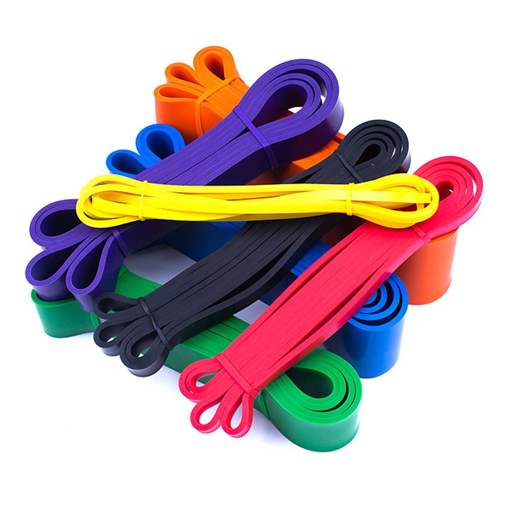 Unisex 7 Styles Pull Up Elastic Band Natural Latex Rubber Tpe Resistance Bands Gym Fitness Expander Strengthen Trainning Power