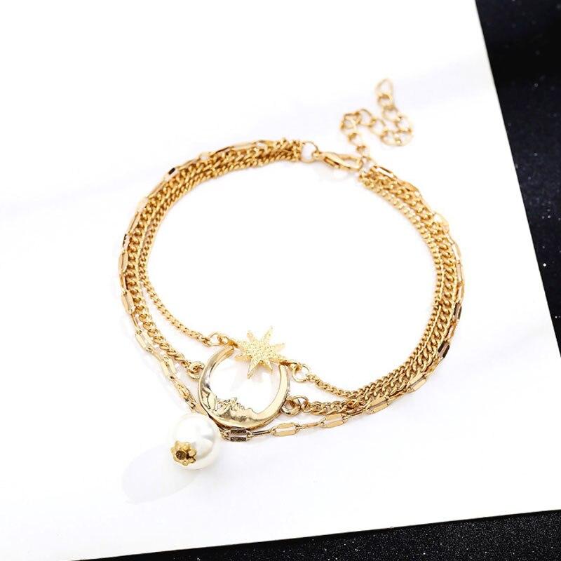 珍珠脚链-3