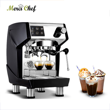 ITOP Semi-automatic Coffee Maker Stainless Steel Commercial Italian Espresso Coffee Machine 15Bars Cafe Machine 220V