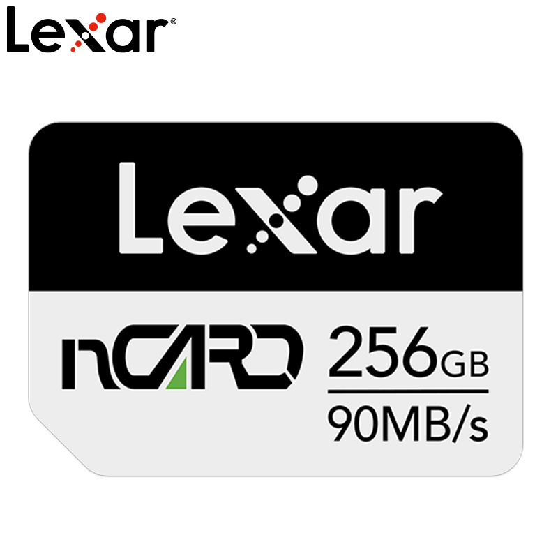 Lexar NM Card Mobile Phone NM Memory Card 64G/128G/256G Memory Card For HUAWEI Mate20 P30 Series Increase Storage Card Expansion