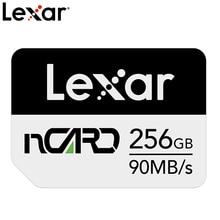 Мобильный телефон Lexar NM Card, карта памяти 64G/128G/256G, карта памяти для HUAWEI Mate20 P30 серии, увеличение объема памяти
