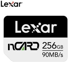O cartão de memória 64g/128g/256g do nanômetro do telefone móvel do cartão de lexar nm para a expansão do cartão de armazenamento do aumento da série de huawei mate20 p30
