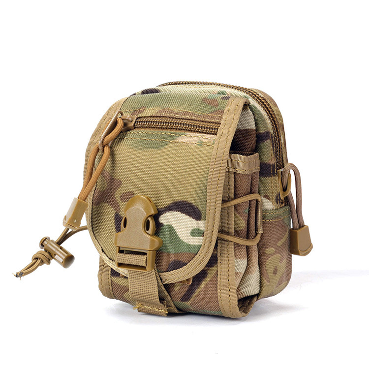033 Tactical Square Sling Bag Outdoor Casual Mobile Phone Bag Tactical Mollo Accessory Kit Outdoor Combination Wallet