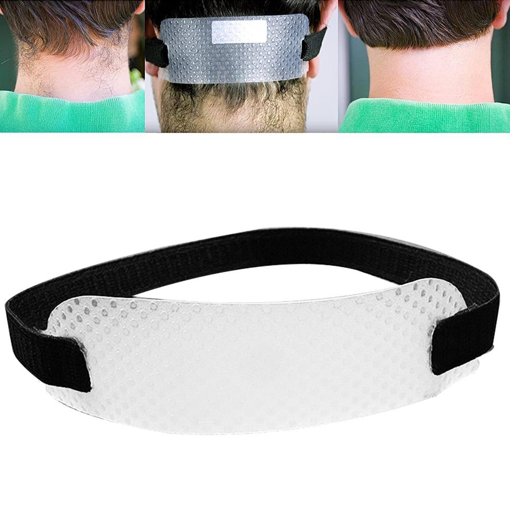 Neck Hair Cut Guide Curved Hairline Clipper Trimming Shaving Template Stencil Self Cut Guide For Hair Grooming & Styling