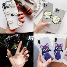 3D Cute Cat For Motorola Moto G8 G7 Plus G6 G7 Play Case Back Silicone Cover for Moto One Macro Action Zoom E5 E6Plus P40 Power(China)