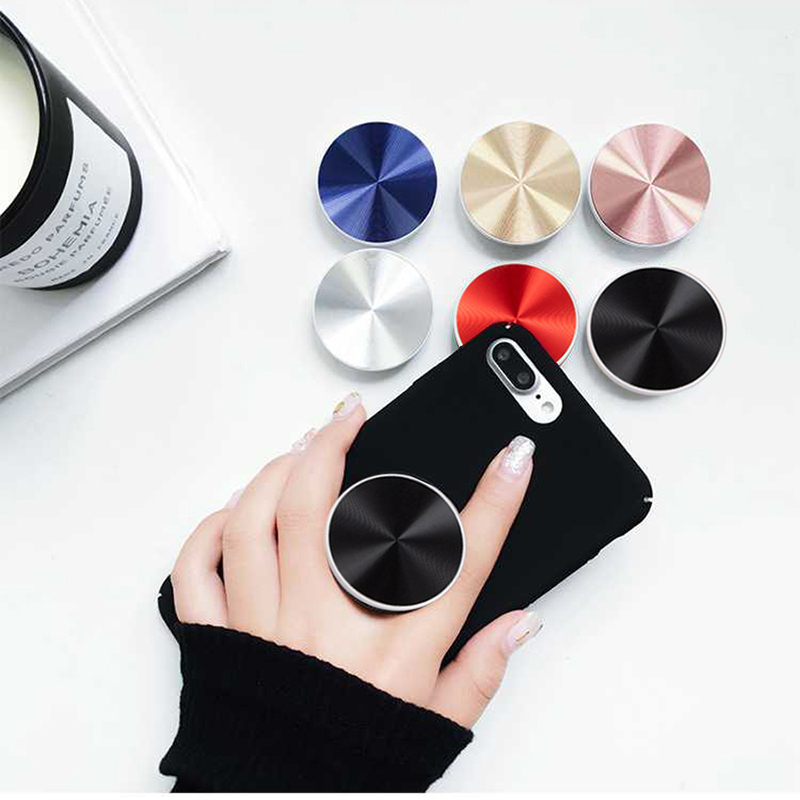 попсокет Phone Stand Metal Colourful Car Mount Expanding Ring Stand Grip Mobile Phone 3d Cute Holder Desk Pocket Socket Stand