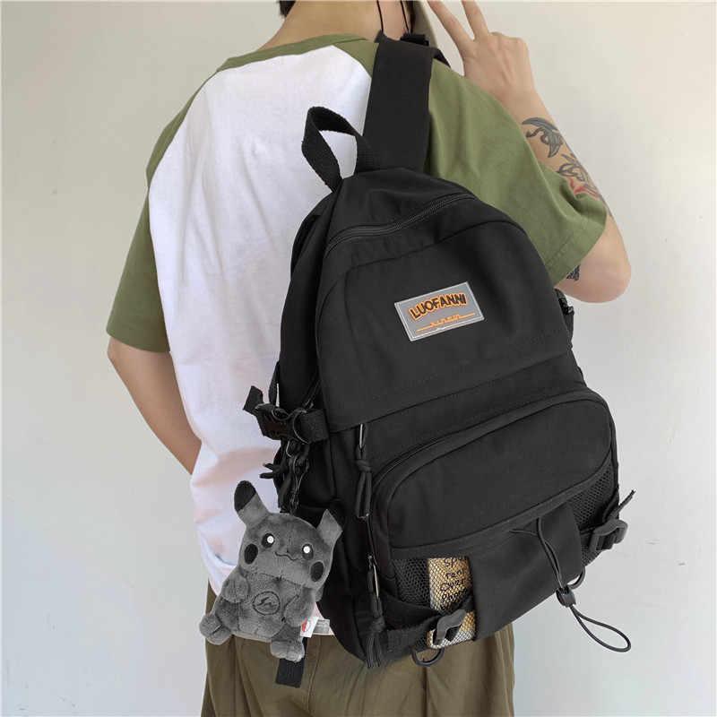 DCIMOR nowy wodoodporny nylonowy plecak damski żeński wysokiej jakości tornister dla nastoletniej dziewczyny plecak podróżny o dużej pojemności Mochila