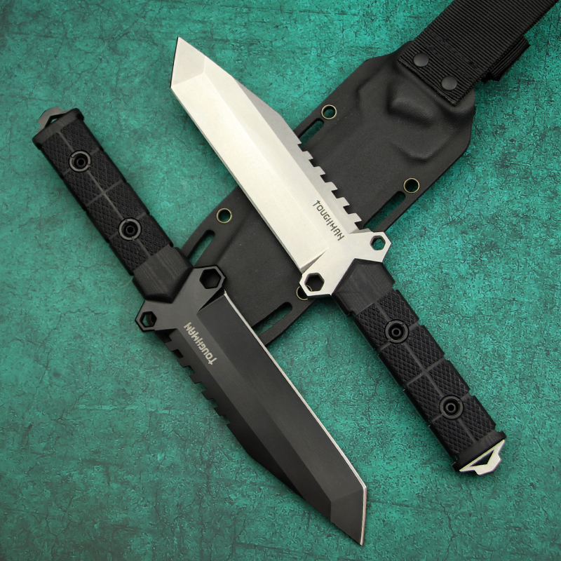 Tactical Sharp Knife Knife Tool EDC Outdoor Steel American Camping DC53 Knife High Quality Jungle Knife 61HRC LENGREN North