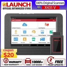 Launch X431 V Volledige System Obdii Diagnostic Tool Met 30 + Speciale Functie/Ecu Codering Tot 128Gb launch X431V 8 Pro Auto Scanner