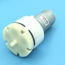 1pc micro bomba de vácuo ar diafragma durável 13l/min 1500ma para eletrodomésticos dc 12v