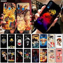 ONE PIECE Affe D Luffy TPU Abdeckung für Samsung Galaxy A2 Core A20e A70s J4 J6 Plus Prime Core J7 duo J8 Weichen Fall(China)