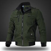 Ymwmhu – blouson bombardier pour homme, veste tactique de pilote militaire de l'armée, manteaux décontracté, automne hiver vêtement d'extérieur pour homme