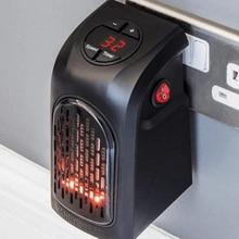 Wall Electric Heater Mini Fan Heater Desktop Household Wall Handy Heating Stove Radiator Warmer Machine for Winter EU/US/UK Plug